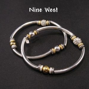 Nine West Matching Bangle Stretch Bracelets